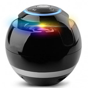 LED Mini Wireless Bluetooth Speaker TF USB Portable Music Hand free call