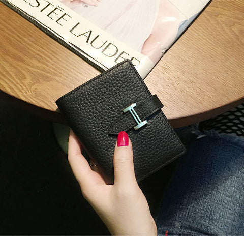 Image of Designer wallets famous brand women wallet hasp fashion leather purse