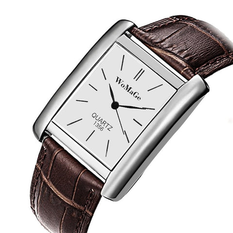 Image of Women Luxury Top Brand rBracelet Watch Leather Band D