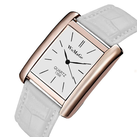 Women Luxury Top Brand rBracelet Watch Leather Band D