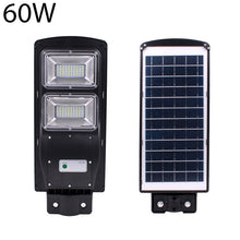 Load image into Gallery viewer, 40CM Pole +20/40/60W Outdoor LED IP67Wall Lamp Solar Sensor Light Remote Control Street Light Radar Motion 2In1 Constantly