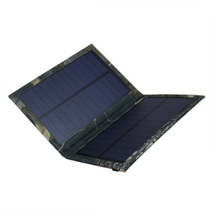 3W/5V/0.5A Frosted Waterproof Portable Folding Solar Panel Charger USB Port Controller Pack for Pad Galaxy iPhone Power Bank PSP