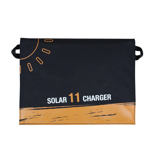 FactoryPrice Frosted Waterproof 11W/5V/1.8A Portable Folding Solar Panel Charger Dual USB Port Controller Pack for Phone PSP MP4