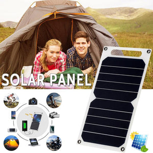 Portable Solar Power Panel Phone Charger for USB Charging