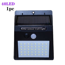 Load image into Gallery viewer, A2 Solar energy light 40LED Motion Sensor Solar power lamp for Home garden outdoor Street Yard Path