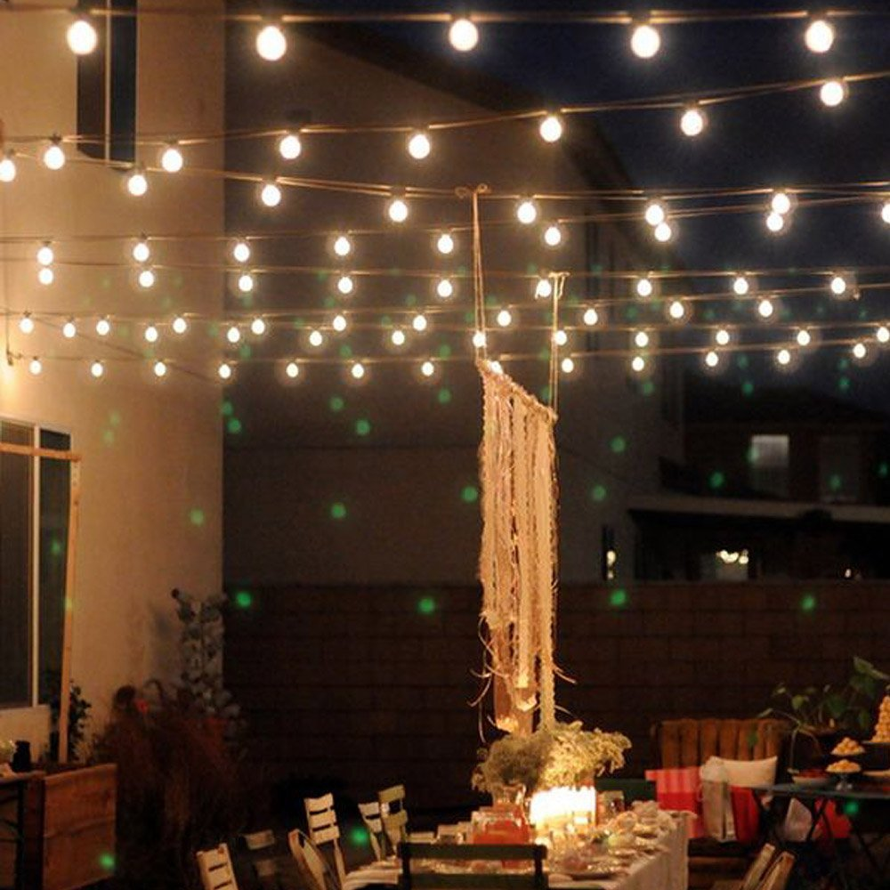 Round Bulb Led String Lights for any Outdoor Lighting