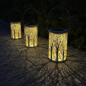 Outdoor Lighting Solar Power LED Hanging Garden Yard Lawn Decoration Lamp