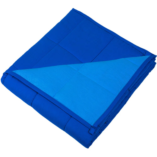Blue Twin Weighted Duvet