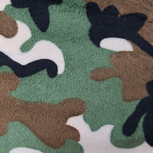Load image into Gallery viewer, Camo Minky Weighted Blanket