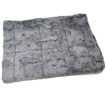Load image into Gallery viewer, Grey Fox Weighted Blanket