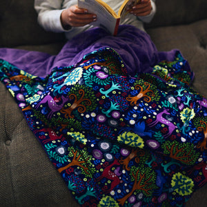 Enchanted Wood Weighted Blanket
