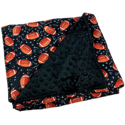 Football Weighted Blanket