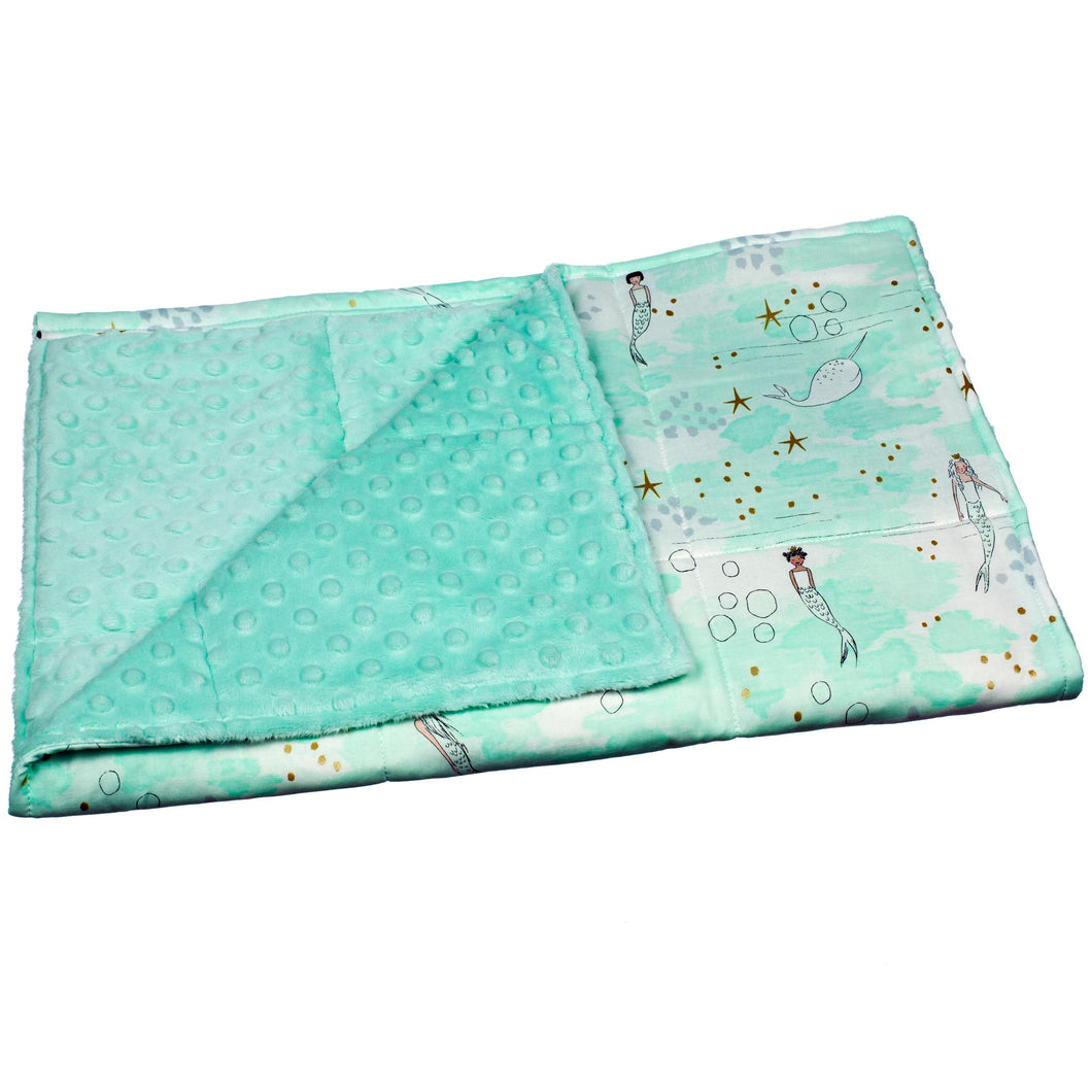 Aqua Mermaid Lap Pad