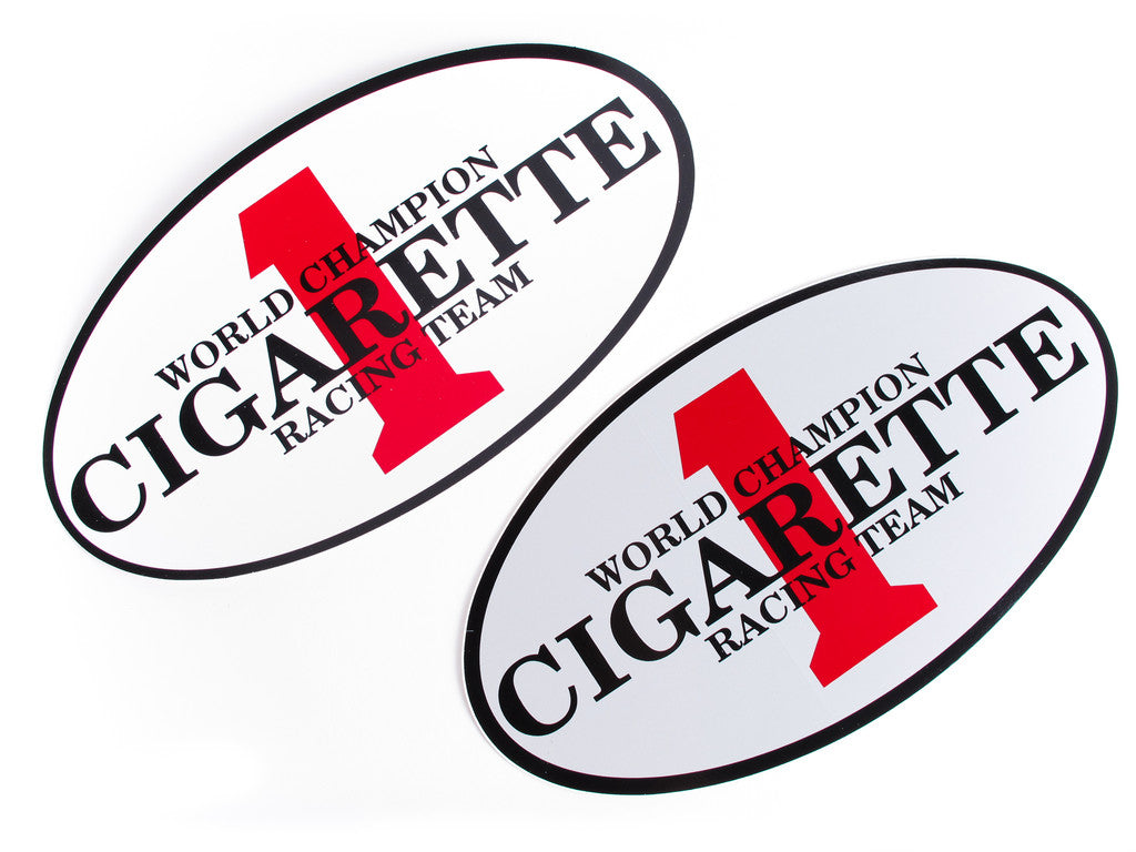 Logo Stickers Cigarette Racing Store