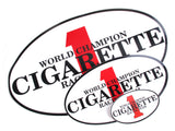 Cigarette Racing Logo Stickers
