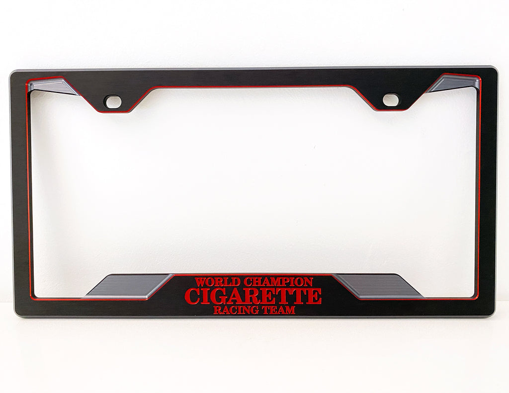 CNC Machined Billet License Plate Frame