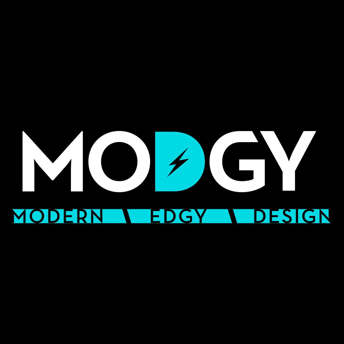 Modgy is Modern + Edgy Design