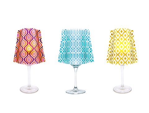 Wine Glass Shades