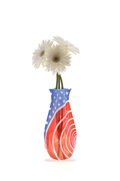 Red White and You Vase - Modgy