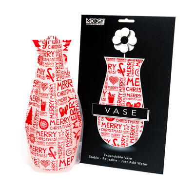 MerryMerry Christmas Vase
