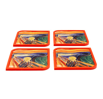 The Scream - 4 Coaster Set - Modgy