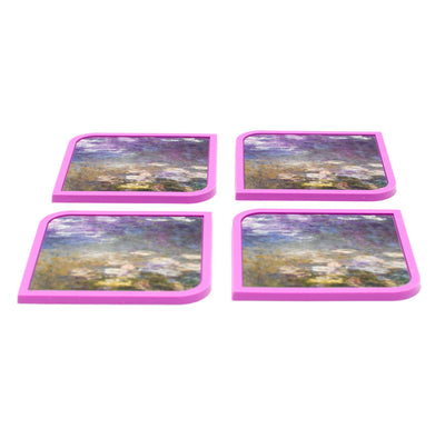 Water Lilies - 4 Coaster Set - Modgy