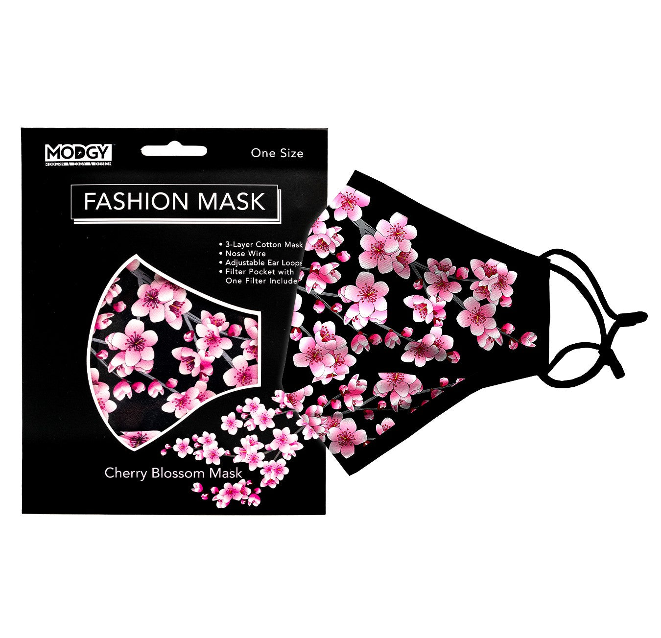 Cherry Blossom Fashion Mask