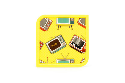 Telly - 4 Coaster Set - Modgy