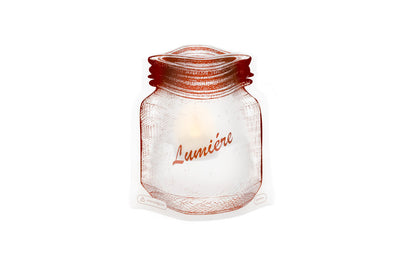 Lumiere - Jar Shaped Luminary - Modgy