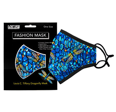 Louis C. Tiffany Dragonfly Fashion Mask