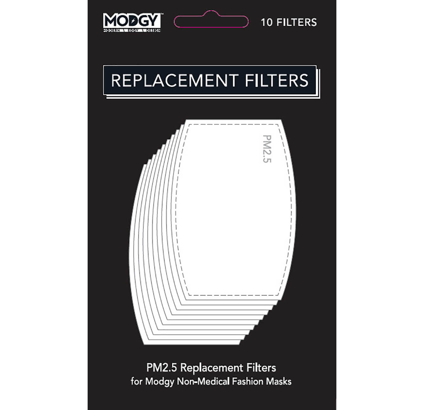 PM2.5 Replacement Filters (10 pack)