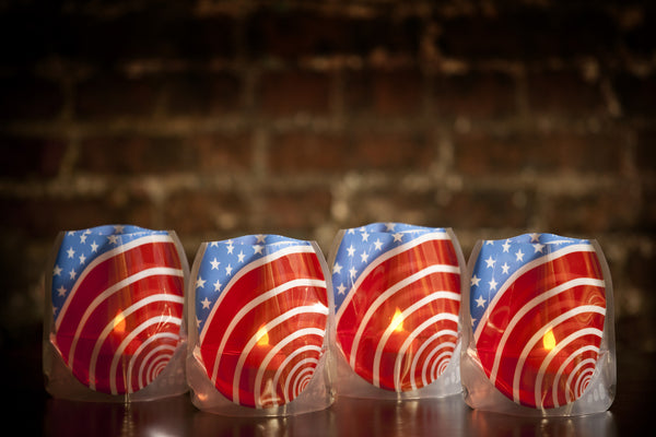 Red White And You Luminaries - Modgy
