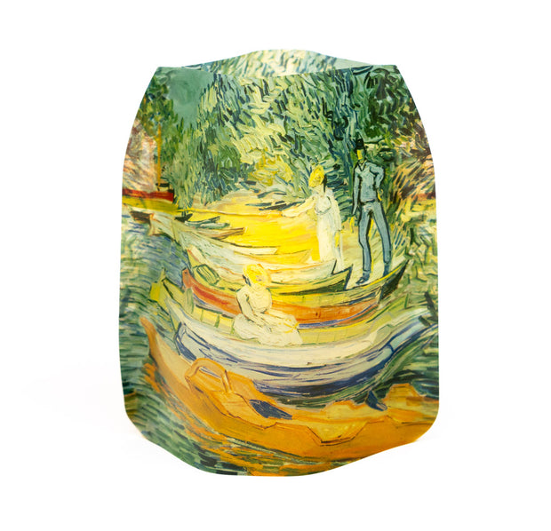 Van Gogh Bank of the Oise at Auvers DIA 1