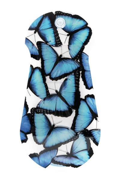 Blue Morpho Butterfly Suction Cup Vase - Modgy