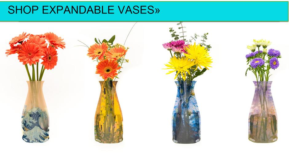 Modgy Expandable Collapsible Vases