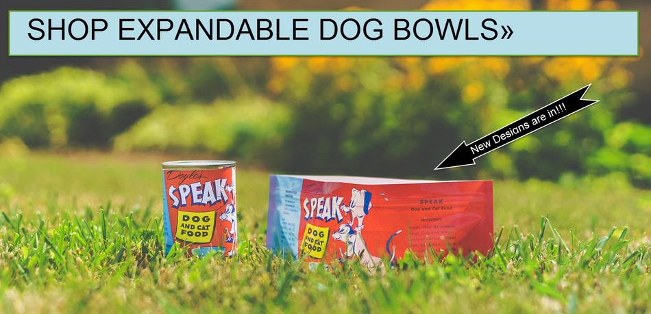 Modgy Collapsible Expandable Dog Bowls