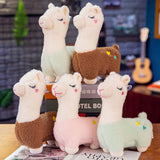 Cute 30cm Alpaca Llama Plush Doll Soft Pillow Stuffed Animal Doll Sheep Plush Alpaca Toys For Kid Girl Birthday Christmas Gift