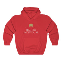 Load image into Gallery viewer, High I.Q. Individual Hooded Sweatshirt