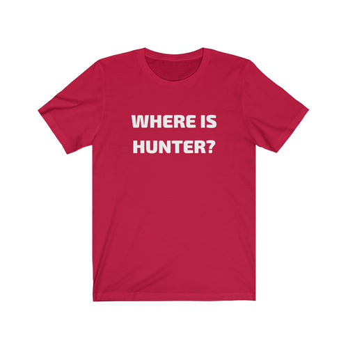 WHERE IS HUNTER?