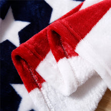 Load image into Gallery viewer, American Flag Soft Fleece Blanket