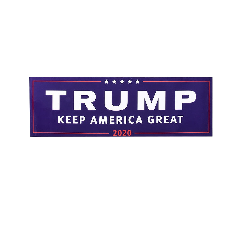 Trump Keep America Great 2020 Bumper Stickers -- 3 or 10 Count