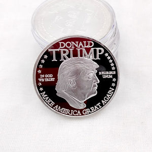 Gold or Silver Coin of the 45th President of our United States of America, Donald J. Trump