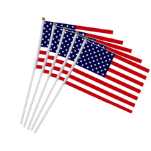 Load image into Gallery viewer, 5 piece American Hand Held Mini Flags