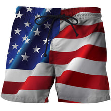 Load image into Gallery viewer, USA Board Shorts - Men/Women - Many Options - Quick Drying