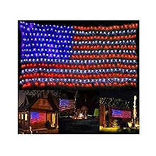Load image into Gallery viewer, American Flag 420 LED String Lights