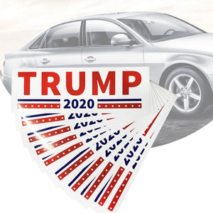 Trump 2020 Decal Bumper Stickers -- 5 or 10 Count