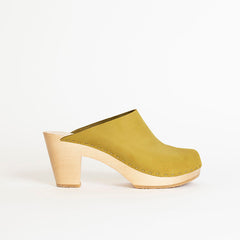 Clementine Closed Toe Clog, High Heel