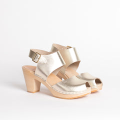 Metallic Miranda Peep Toe, Bridal