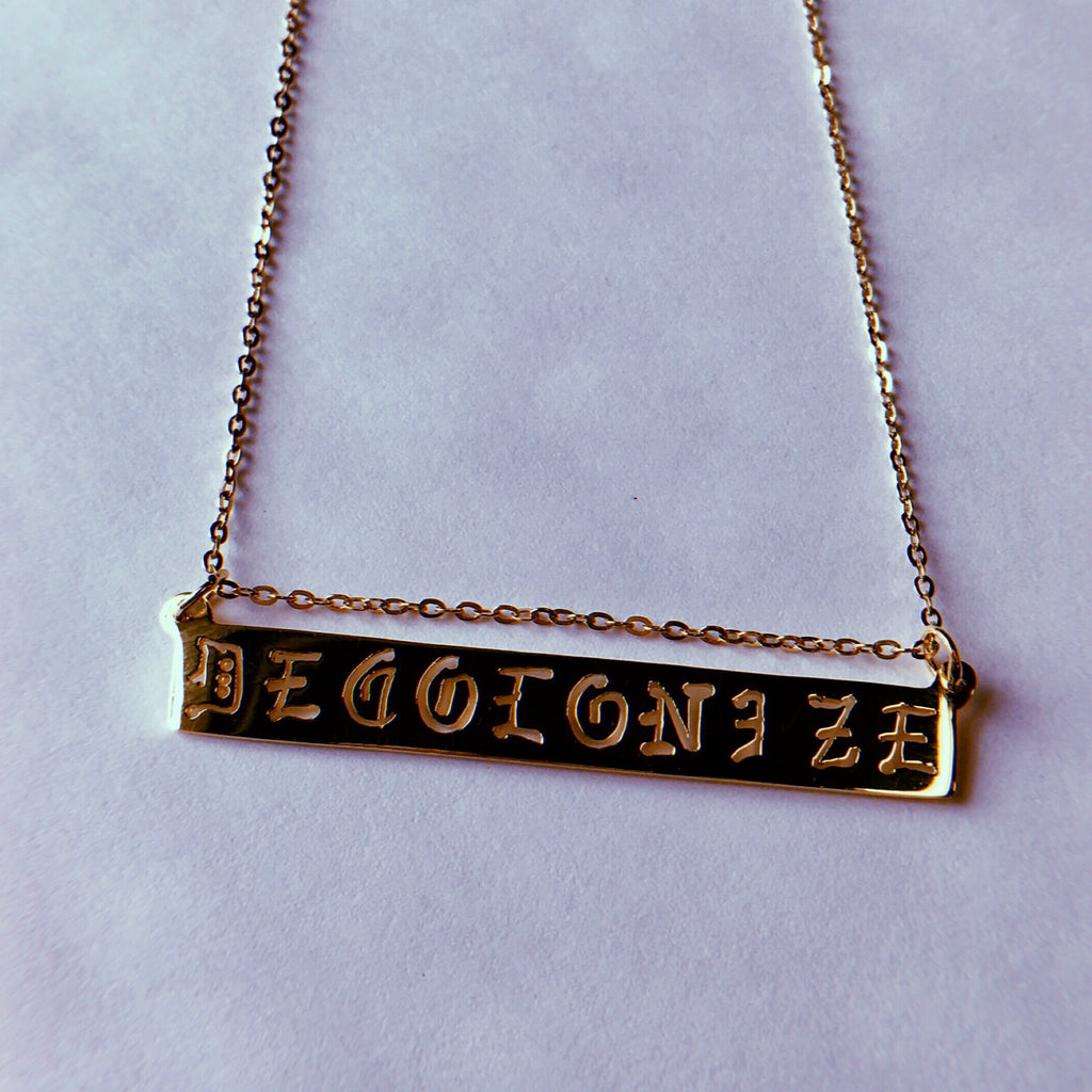 Decolonize Necklace