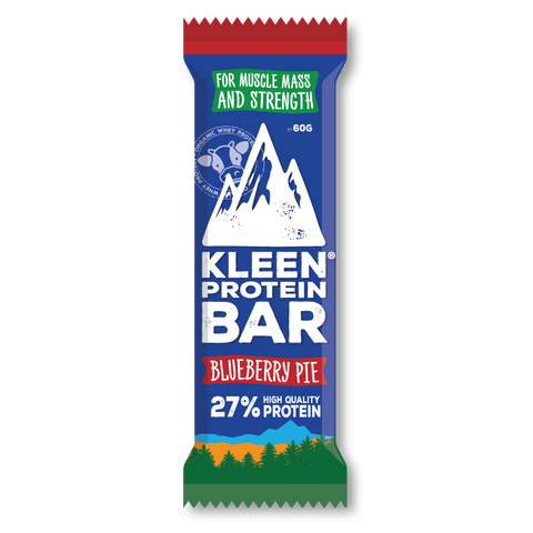 Kleen Protein Bar - Blueberry Pie (låda 16 bars)